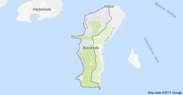 Nizam Mahallesi Uydu Görüntüsü ve Haritası Adalar İstanbul