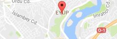 Pierre Loti Tepesi Uydu Görüntüsü, Harita, Nerede
