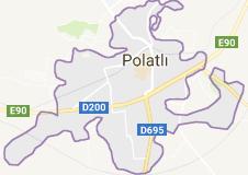Polatlı Uydu Görüntüsü Ankara