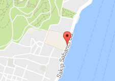 Sakıp Sabancı Müzesi Uydu Görüntüsü, Harita