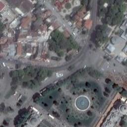 Sultanahmet Meydanı Uydu Görüntüsü, Harita