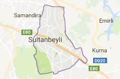Sultanbeyli Uydu Görüntüsü ve Haritası