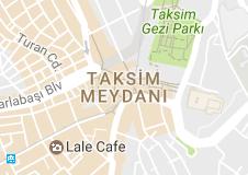 Taksim Uydu Haritası Uydu Görüntüsü Beyoğlu