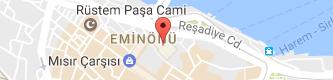 Yeni Camii, Eminönü Uydu Görüntüsü ve Harita