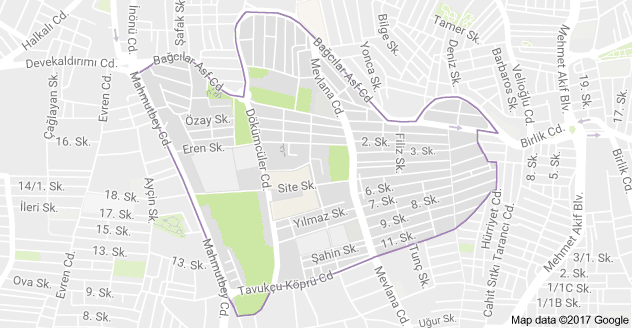 Yenimahalle Uydu Görüntüsü ve Haritası Bağcılar İstanbul
