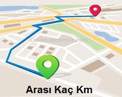 Kapıkule Alaşehir arası kaç km nasıl gidilir yol güzergahı