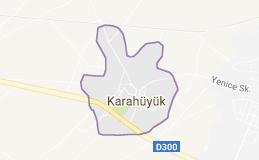 Akşehir Karahüyük Uydu Görüntüsü