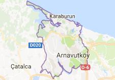 İstanbul Arnavutköy Uydu Görüntüsü