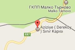 Dereköy Sınır Kapısı Uydu Görüntüsü ve Haritası
