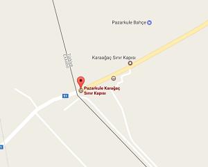 Pazarkule Sınır Kapısı Uydu Görüntüsü ve Haritası