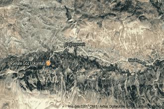 Çağlayancerit Uydu Görüntüsü ve Haritası Kahramanmaraş