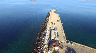 Çanakkale Bozcaada Havadan Kamera İzle