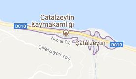 Çatalzeytin,Kastamonu Uydu Görüntüsü Uydu Haritası