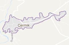 Çermik Uydu Görüntüsü Uydu Haritası Diyarbakır
