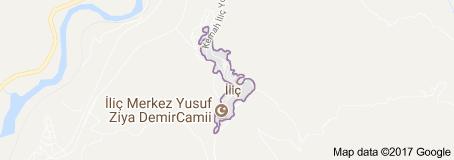 İliç Uydu Görüntüsü Uydu Haritası Erzincan