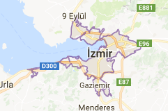 İzmir Uydu Görüntüsü Uydu Haritası