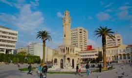 İzmir Saat Kulesi Uydu Görüntüsü Uydu Haritası