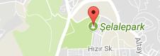 Şelale Park Uydu Görüntüsü ve Haritası Eskişehir