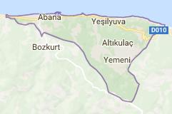 Abana Uydu Görüntüsü Uydu Haritası Kastamonu
