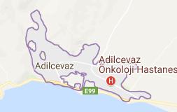 Adilcevaz Uydu Görüntüsü Uydu Harita Bitlis
