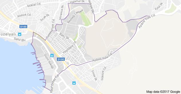 Aydıntepe Mahallesi Uydu Görüntüsü Uydu Haritası Tuzla