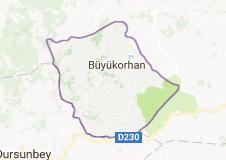 Büyükorhan Uydu Görüntüsü Uydu Haritası Bursa