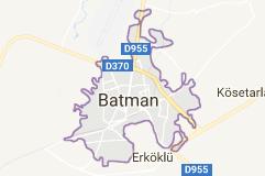 Batman Uydu Görüntüsü Uydu Haritası izle