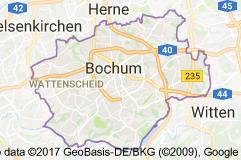 Bochum Uydu Görüntüsü Uydu Haritası Almanya