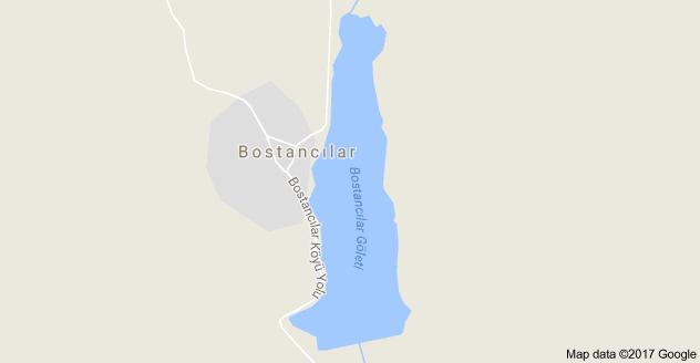 Bostancılar Göleti Uydu Görüntüsü Karabük