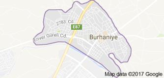 Burhaniye Uydu Görüntüsü Uydu Haritası Balıkesir