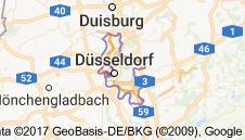 Düsseldorf Uydu Görüntüsü Uydu Haritası Almanya