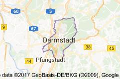 Darmstadt Uydu Görüntüsü Uydu Haritası Almanya