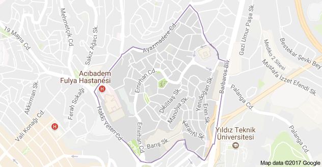 Dikilitaş Mahallesi Nerede Nasıl Giderim Harita Beşiktaş