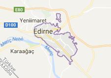 Edirne Uydu Görüntüsü Uydu Haritası