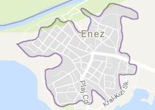 Enez Uydu Görüntüsü Uydu Haritası Edirne