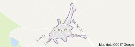 Günyüzü Uydu Görüntüsü Uydu Haritası Eskişehir