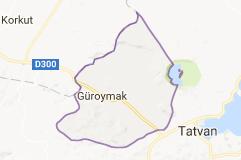 Güroymak Uydu Görüntüsü Uydu Harita Bitlis