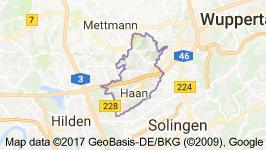 Haan Uydu Görüntüsü Uydu Haritası Almanya