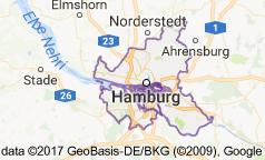 Hamburg Uydu Görüntüsü Uydu Haritası Almanya