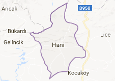 Hani Uydu Görüntüsü Uydu Haritası Diyarbakır