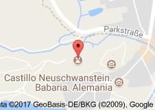 Hohenschwangau Şatosu Uydu Görüntüsü Uydu Haritası Almanya