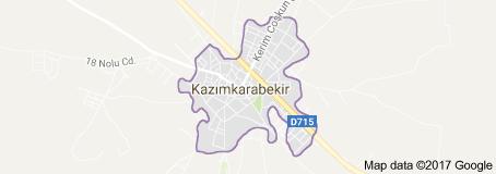 Karaman Kazımkarabekir Uydu Görüntüsü ve Haritası