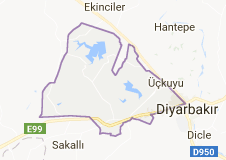Kayapınar Uydu Görüntüsü Uydu Haritası Diyarbakır