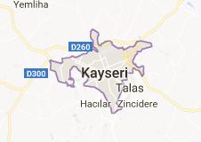 Kayseri Uydu Görüntüsü Uydu Haritası
