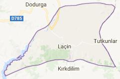 Laçin Uydu Görüntüsü Uydu Haritası Çorum