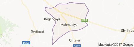 Mahmudiye Uydu Görüntüsü Uydu Haritası Eskişehir
