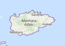 Marmara Uydu Görüntüsü Uydu Haritası Balıkesir