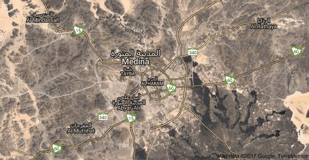 Medine Uydu Görüntüsü Uydu Haritası izle