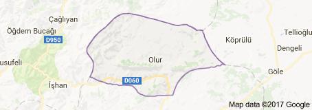 Olur Uydu Görüntüsü Uydu Haritası Erzurum