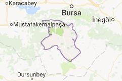 Orhaneli Uydu Görüntüsü Uydu Haritası Bursa